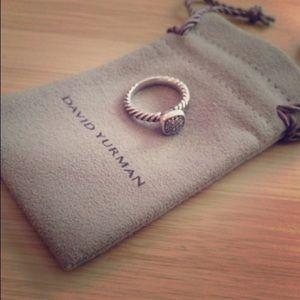 David Yurman Pavé ring with Diamonds